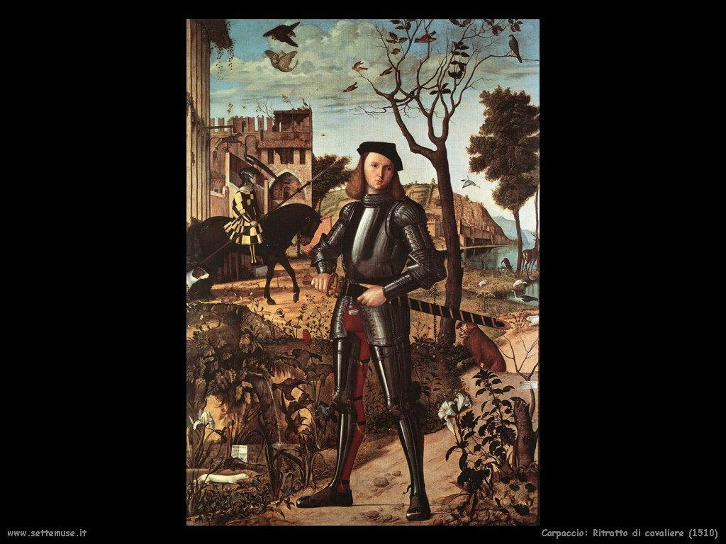 Vittore Carpaccio Ritratto di cavaliere (1510)