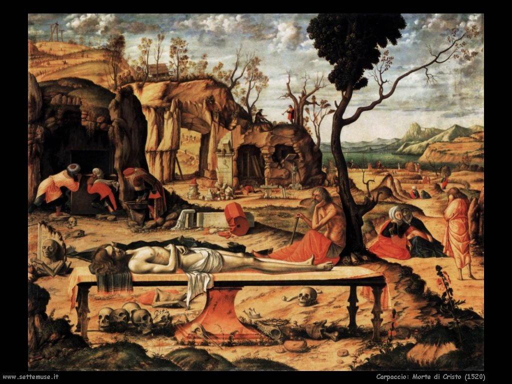 Morte di Cristo (1520)