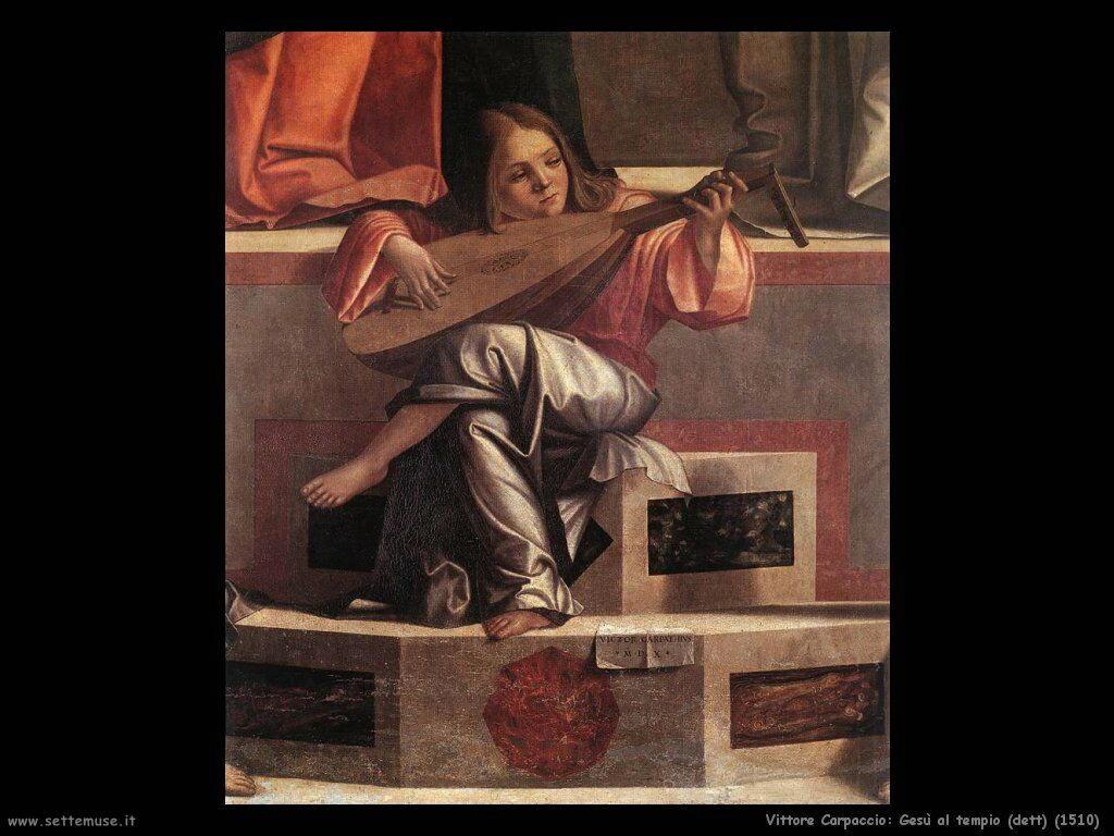 Gesù al tempio (dett) (1510)