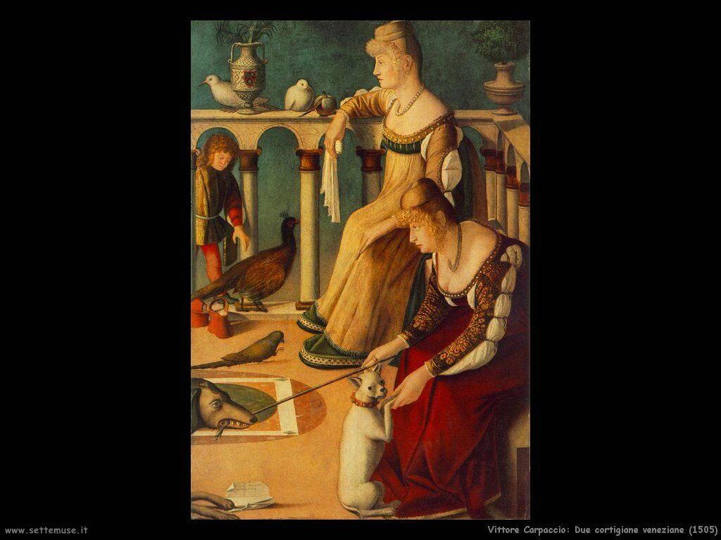 Due cortigiane veneziane (1505)