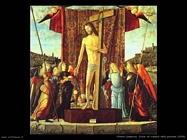 Cristo col simbolo della passione (1496)