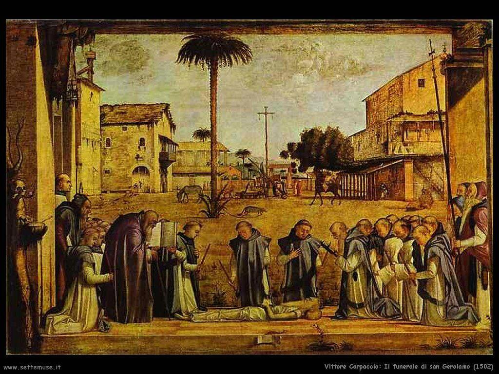 carpaccio funerale_san_gerolamo 1502