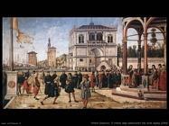 carpaccio Ritorno degli ambasciatori alla corte inglese (1500)