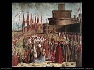I pellegrini incontrano il Papa (1492)