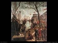 Arrivo dei pellegrini a Cologne (1490)