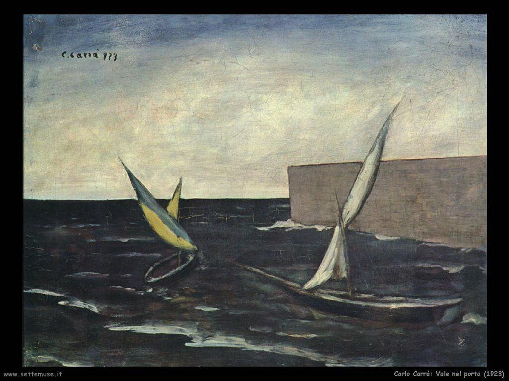 Vele nel porto (1923)