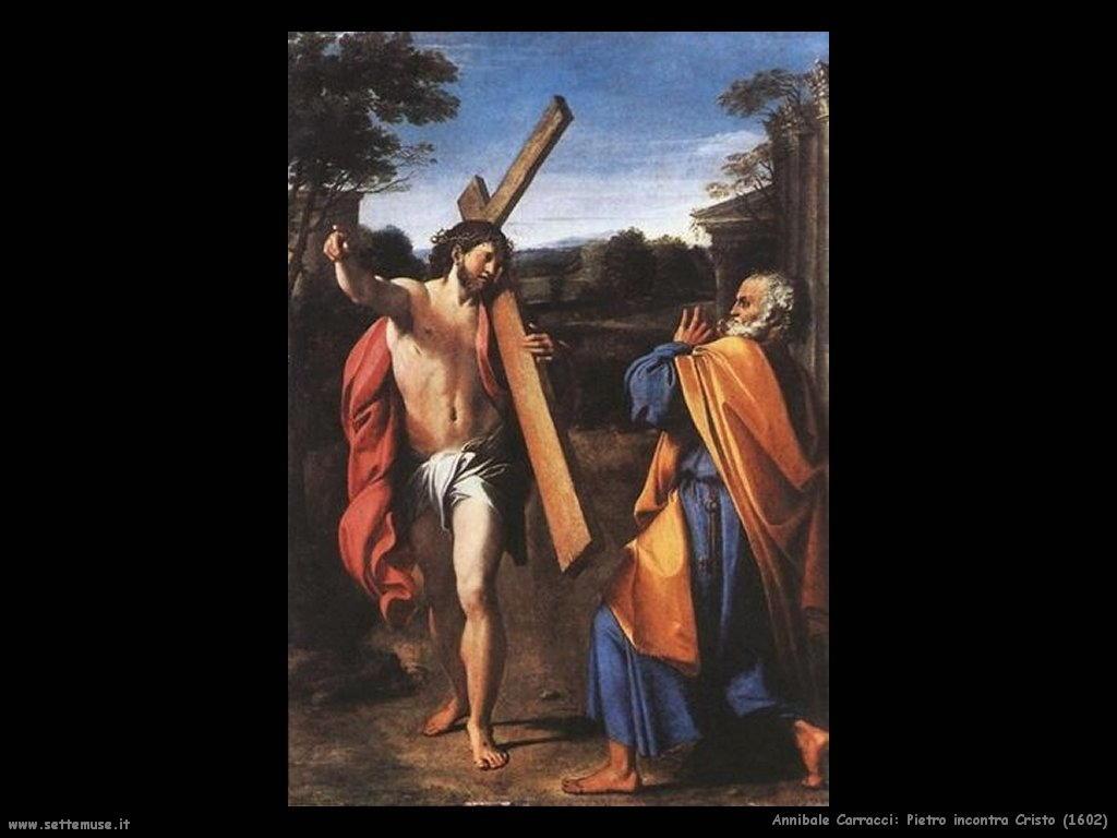 annibale carracci Pietro incontra Cristo (1602)