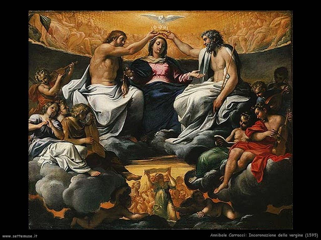 Incoronazione della Vergine (1595)