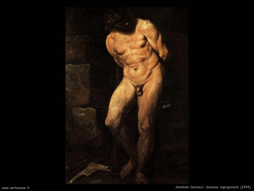 Sansone imprigionato (1595)