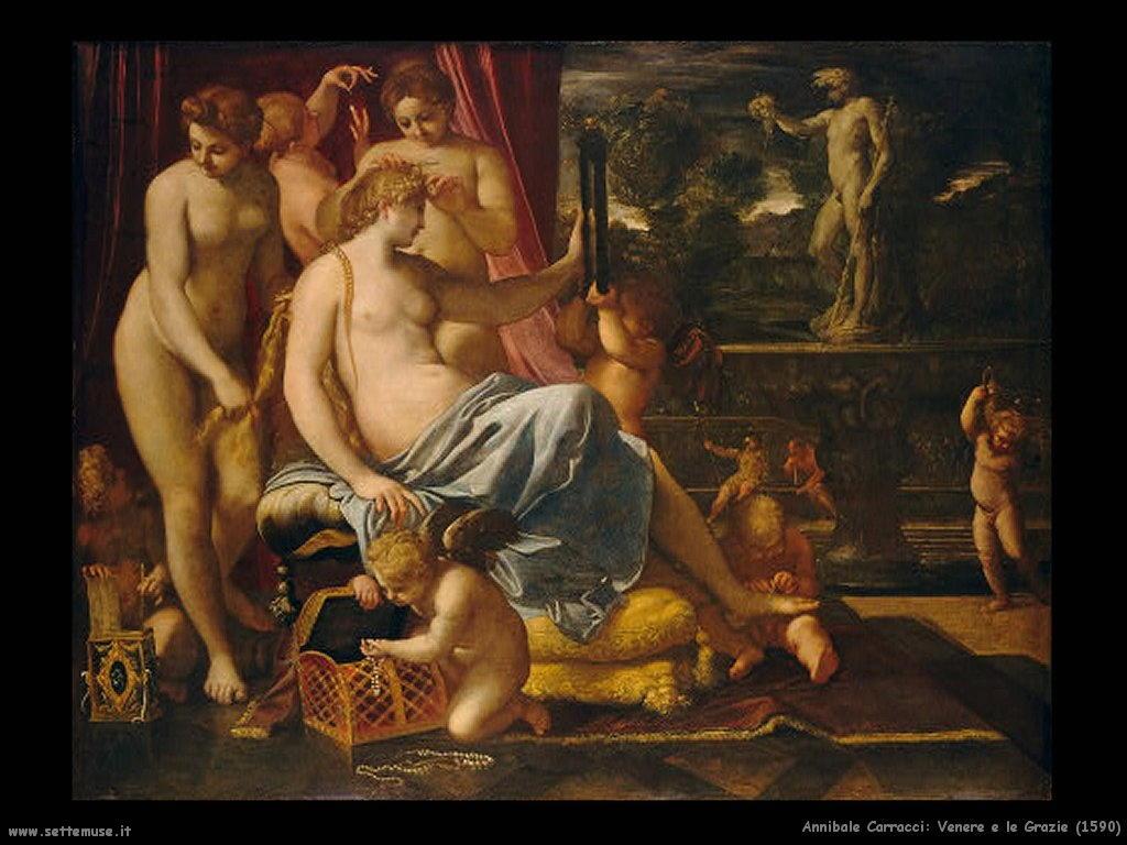 Venere e le Grazie (1590)