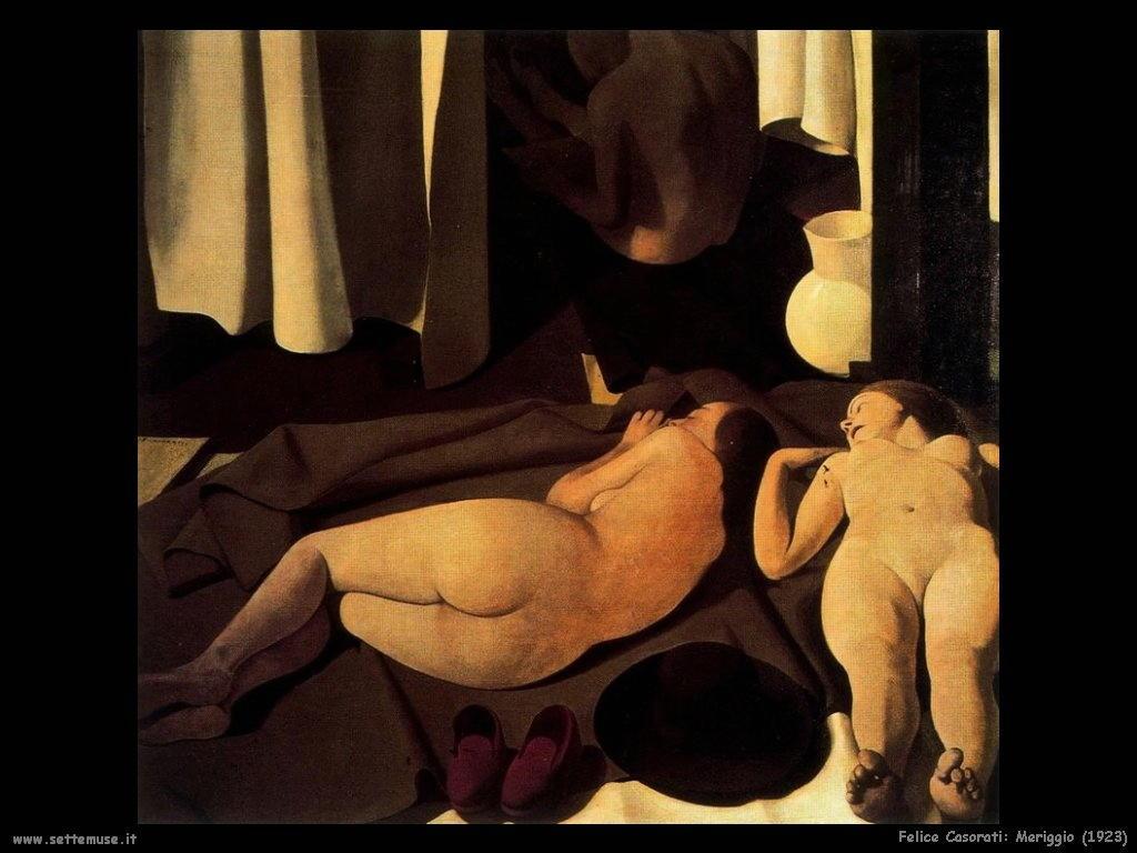 felice casorati Meriggio (1923)
