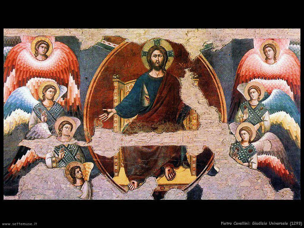 pietro cavallini Giudizio Universale (1293)