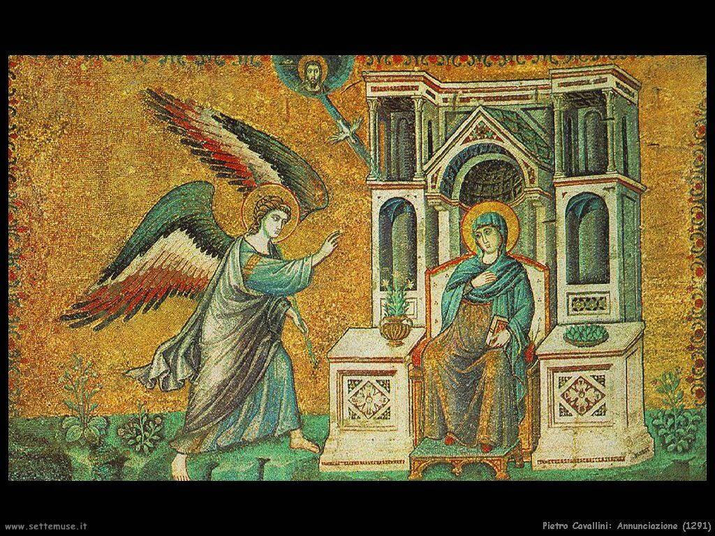 pietro cavallini Annunciazione (1291)