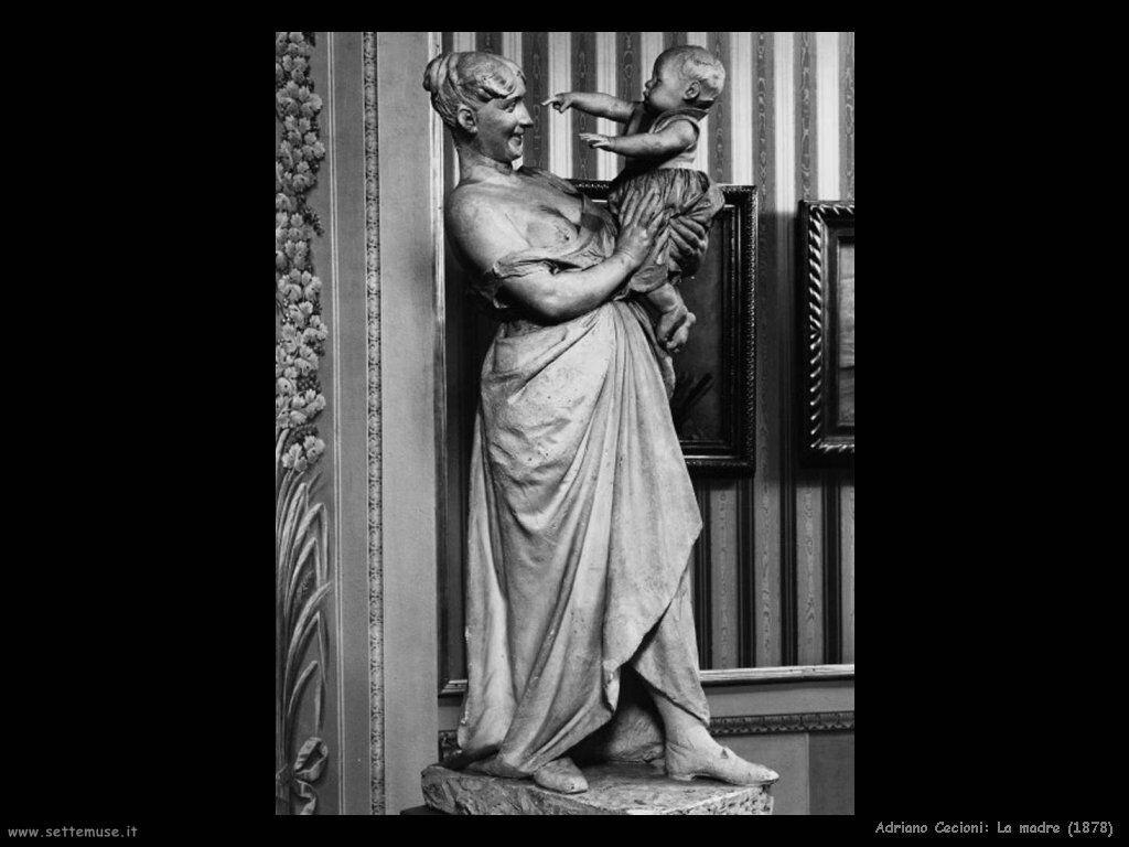 adriano cecioni La madre (1878)