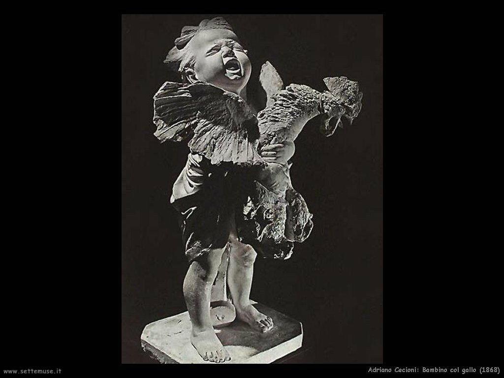 Bambino col gallo (1868)