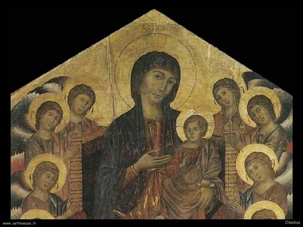 Cimabue Giovanni Madonna 1280