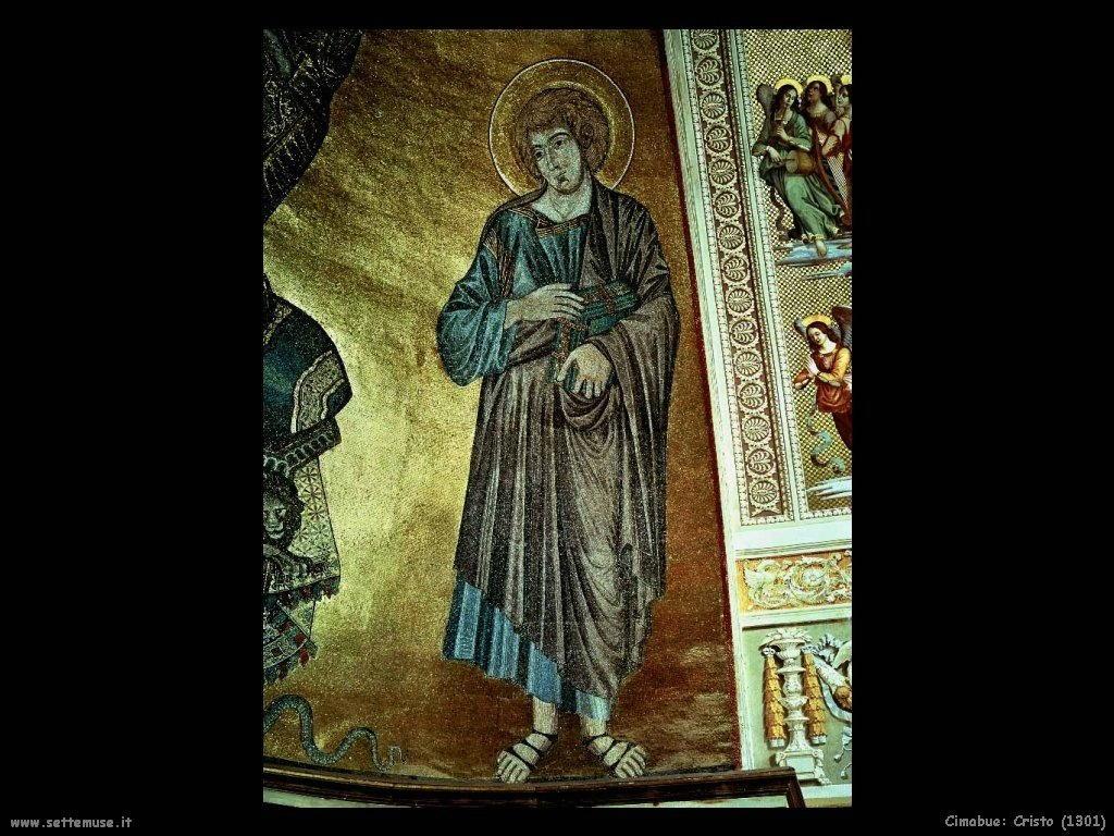 Cimabue Giovanni Cristo (1301)