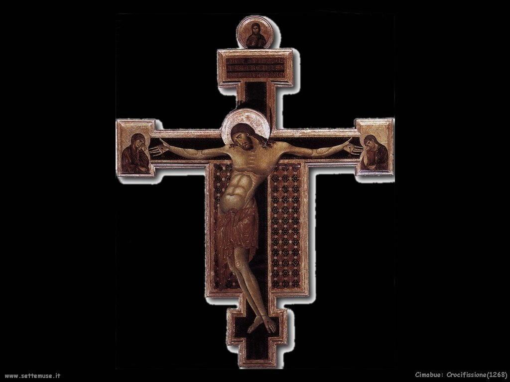 Cimabue Crocifissione