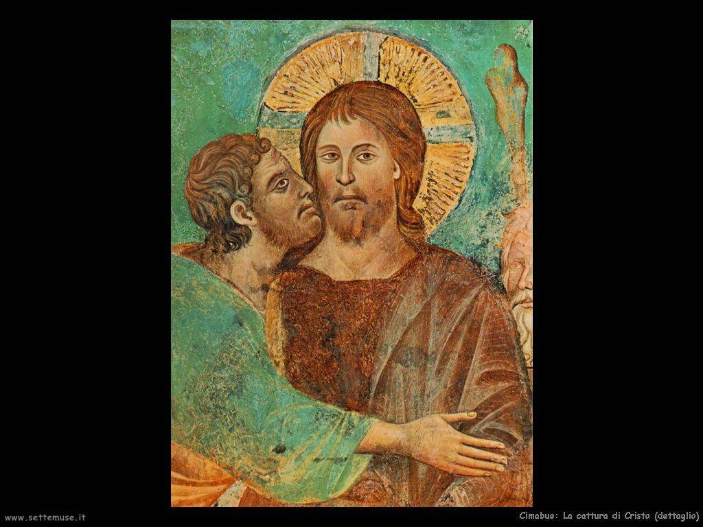 Cimabue Giovanni La cattura di Cristo (dettaglio)