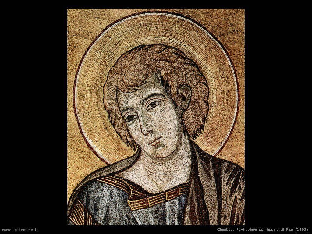 Cimabue Giovanni Particolare nel Duomo di Pisa (1302)