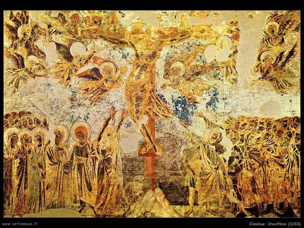 Cimabue Giovanni Crocifisso (1283)