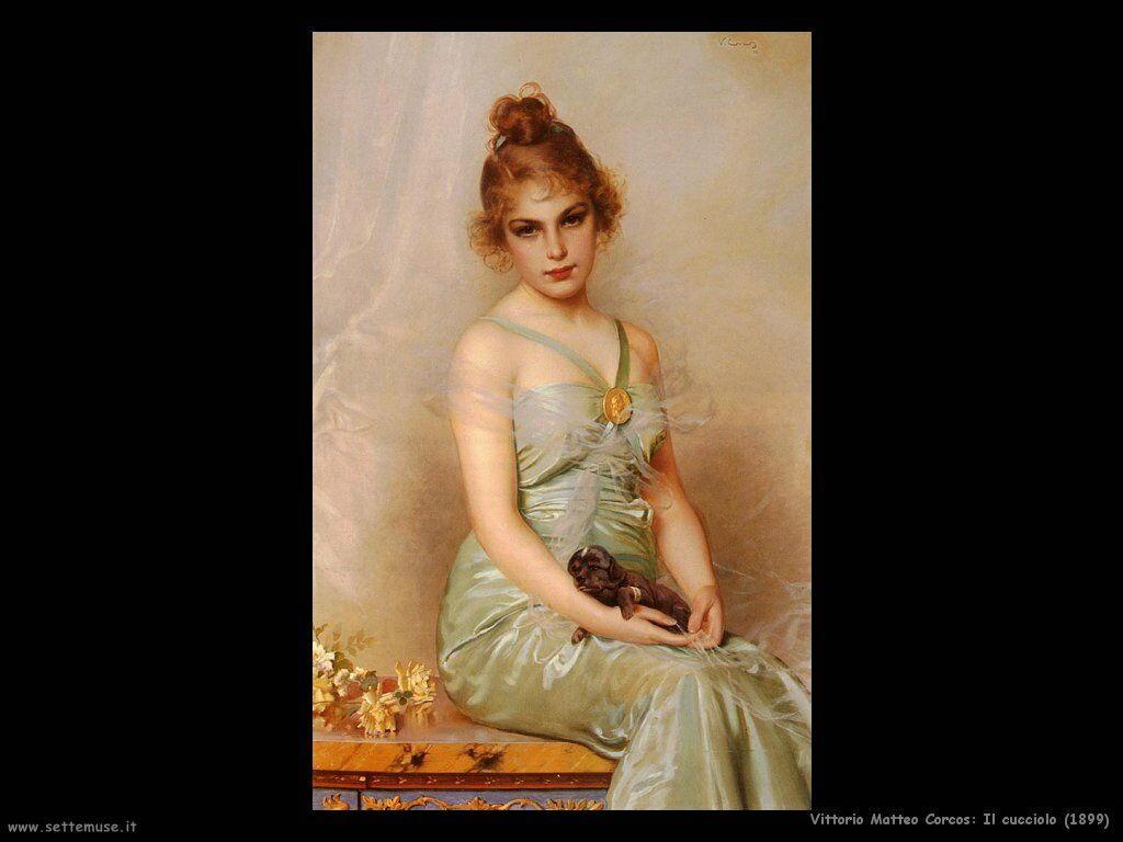 vittorio matteo corcos Il cucciolo (1899)