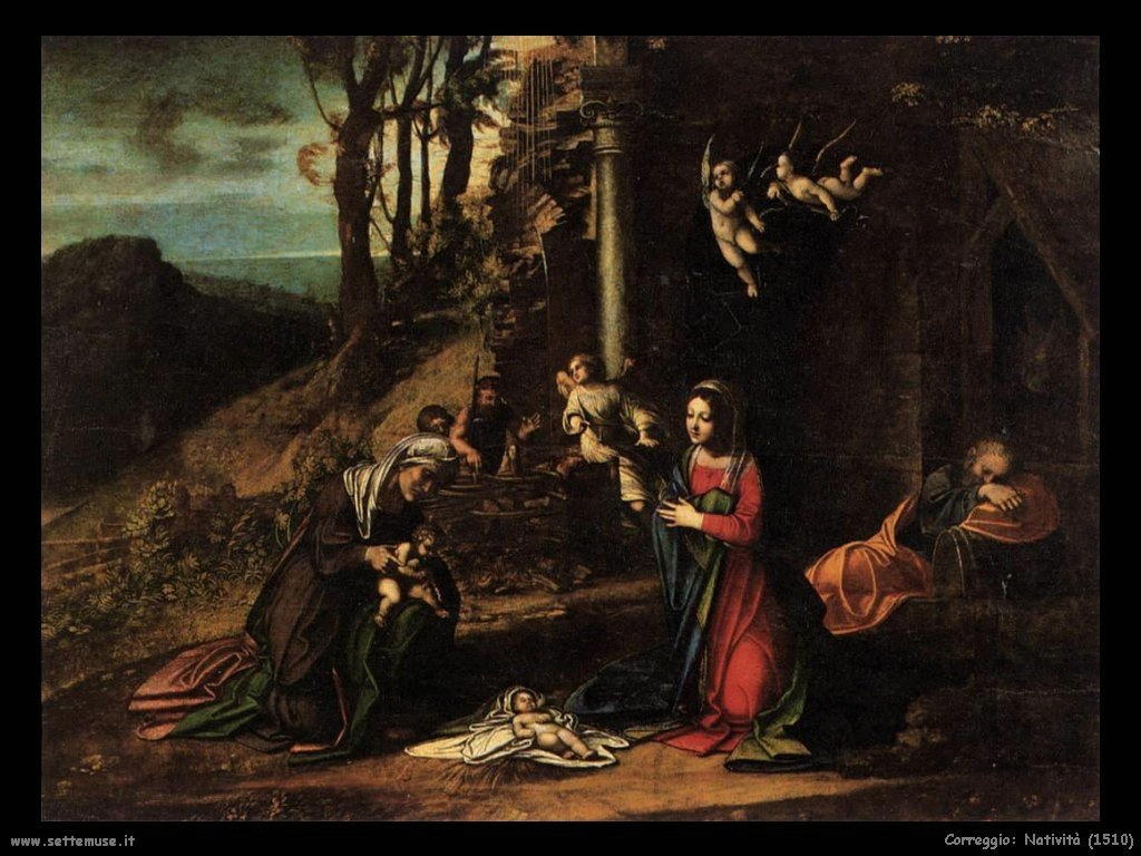 Correggio Natività del 1510