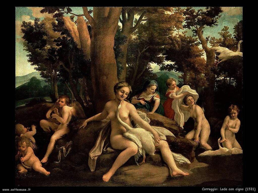Leda con il cigno (1531)