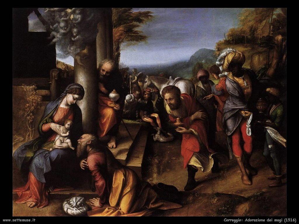 Correggio Adorazione dei Magi (1516)