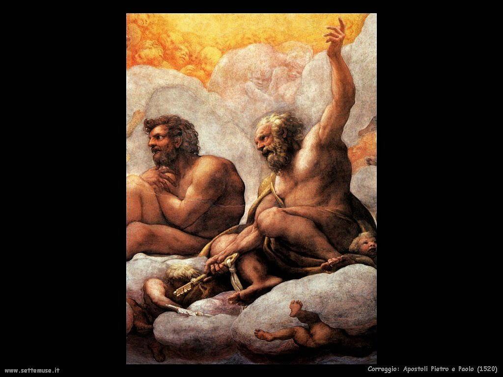 Apostoli Pietro e Paolo dettaglio (1520)