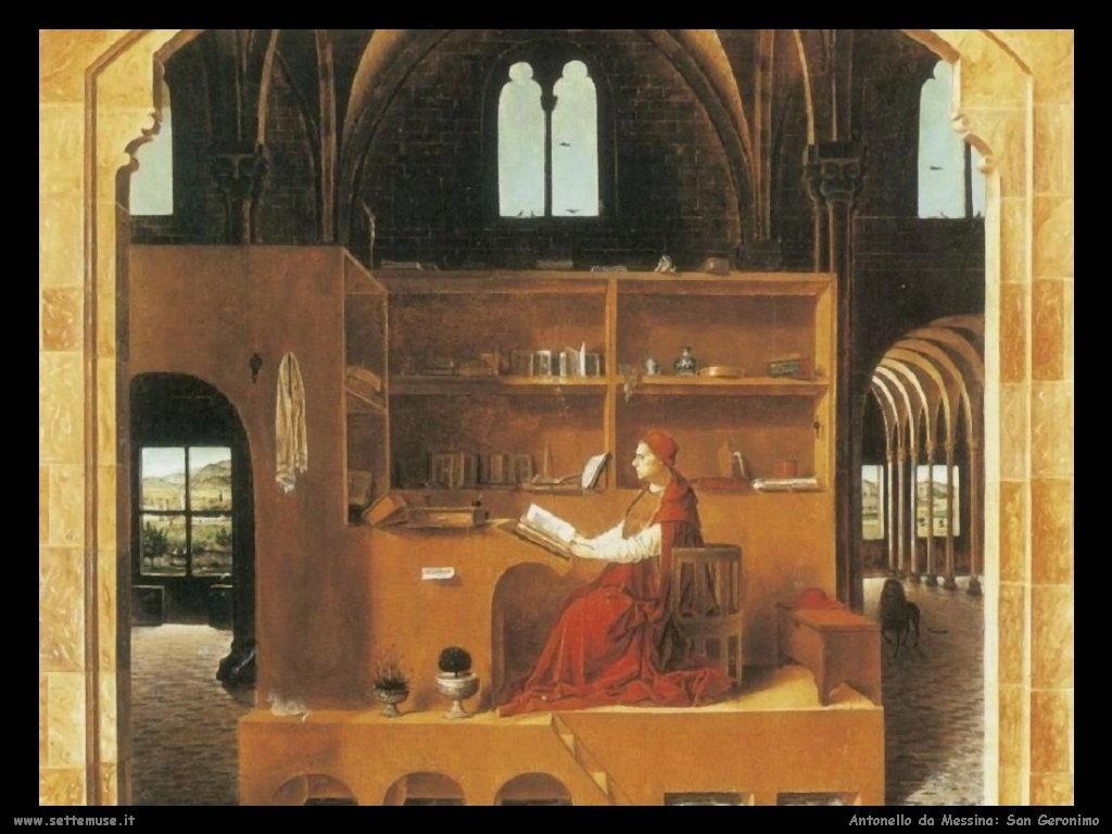 San Girolamo Antonello da Messina