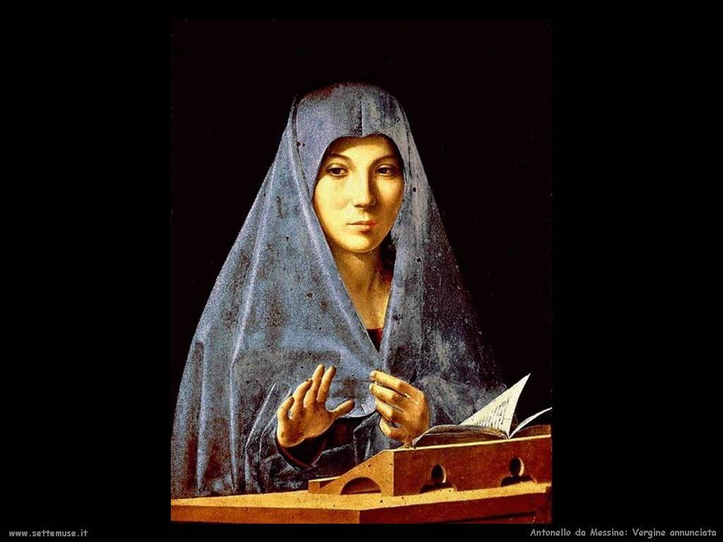 Antonello da Messina Vergine annunciata