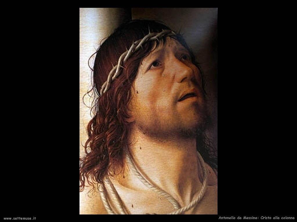 Antonello da Messina Cristo alla colonna