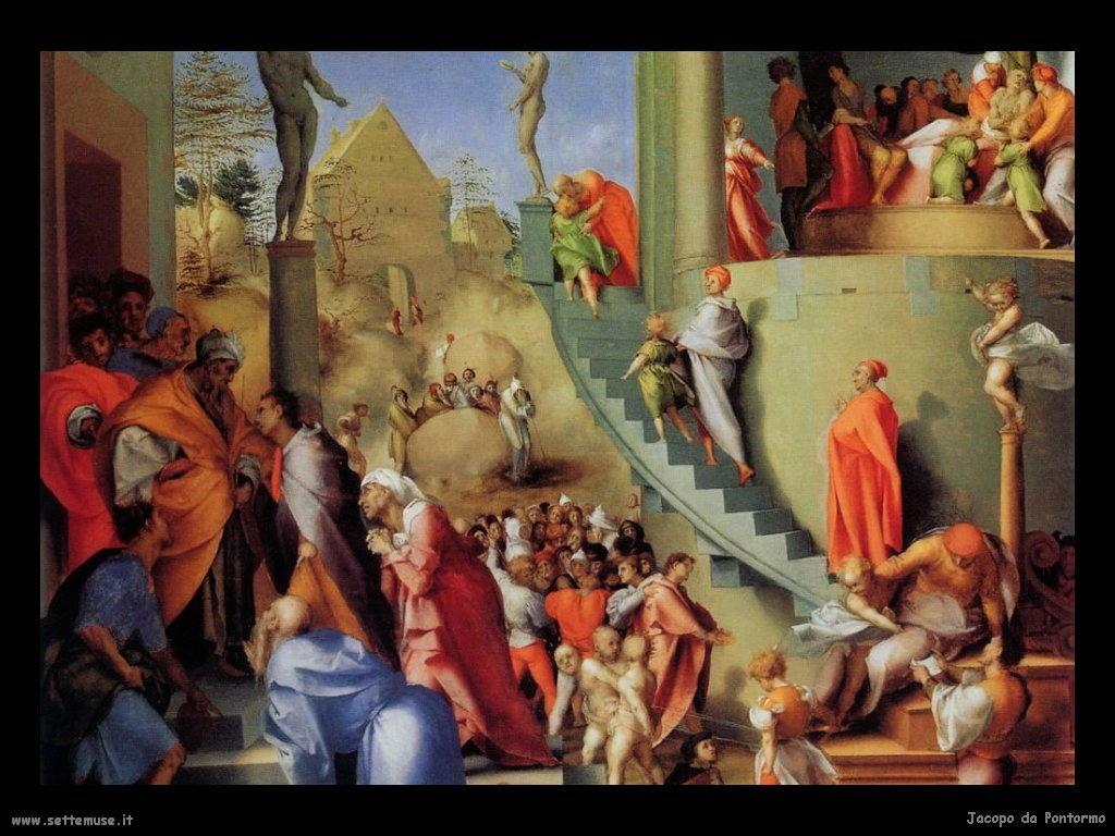 Jacopo da Pontormo giuseppe in egitto