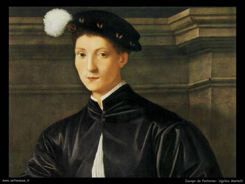 Jacopo da Pontormo Ugolino Martelli