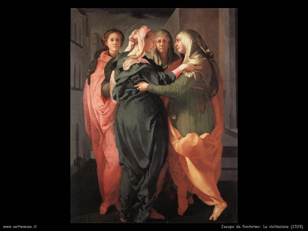 Jacopo da Pontormo La visitazione (1528)