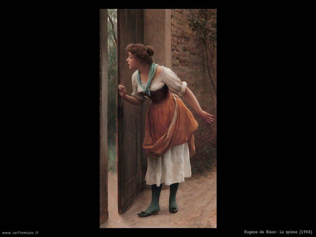 eugene de blaas La spiona (1906)