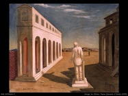 giorgio de chirico Piazza souvenir d'Italie (1925)