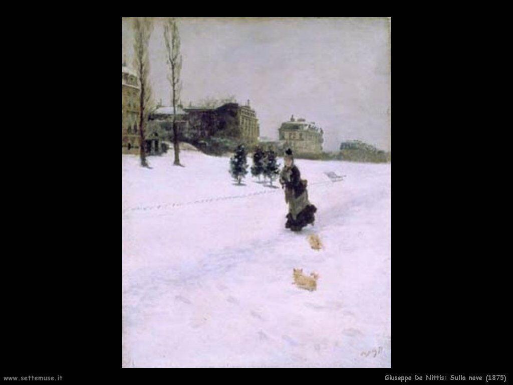 Sulla neve (1875)