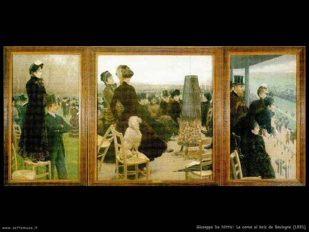 Le corse al bois de Boulogne (1881)