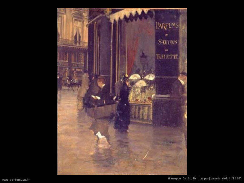 giuseppe de nittis La parfumerie violet (1880)