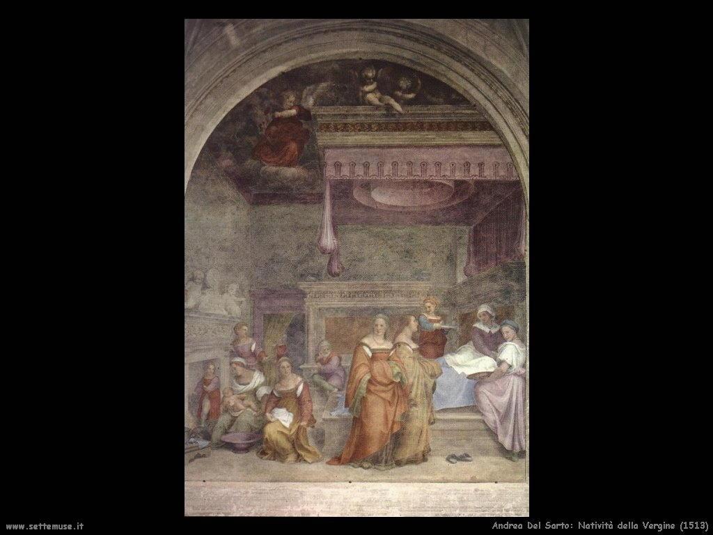 _Andrea del Sarto Nativita della Vergine Maria