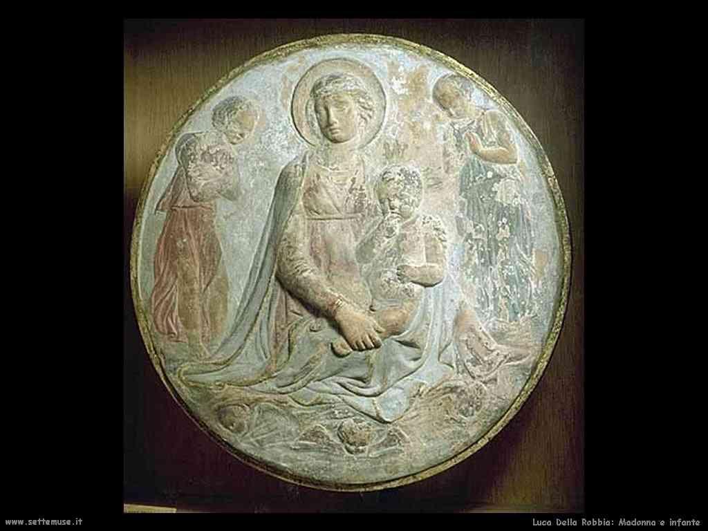 Luca della Robbia Madonna e infante