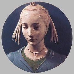 Statua di Luca della Robbia