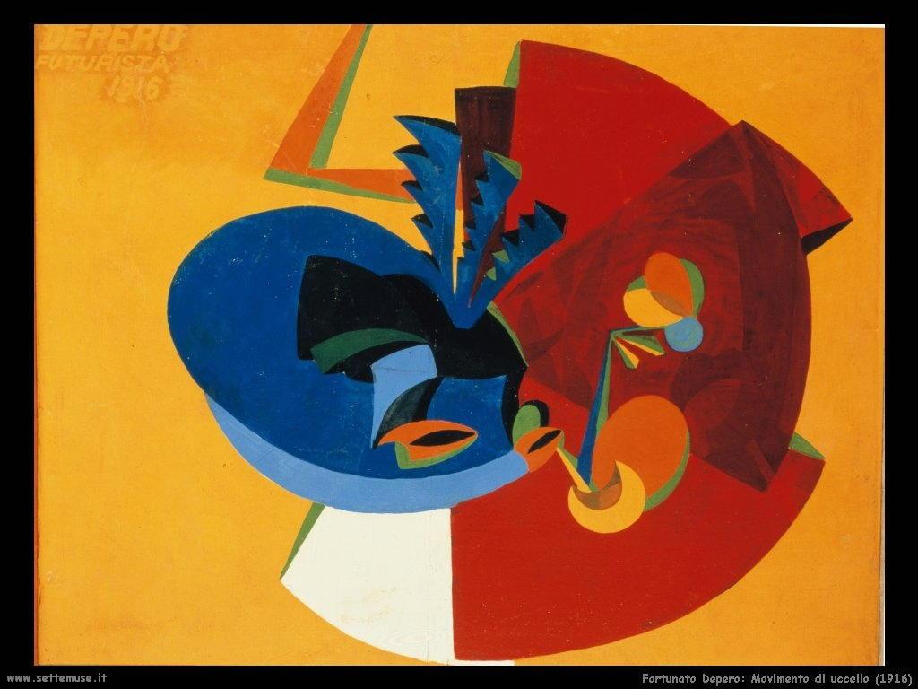 Fortunato Depero Art D'arte di Fortunato Depero