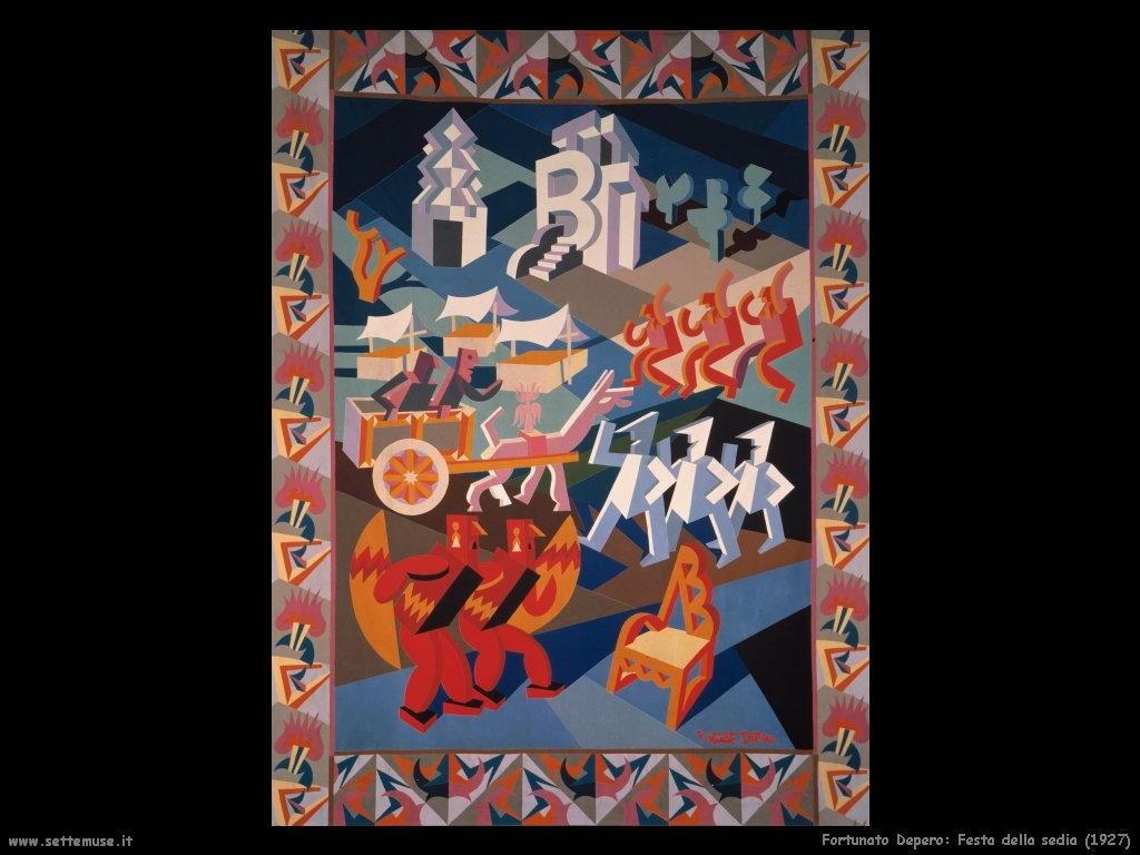 fortunato depero Festa della sedia (1927)