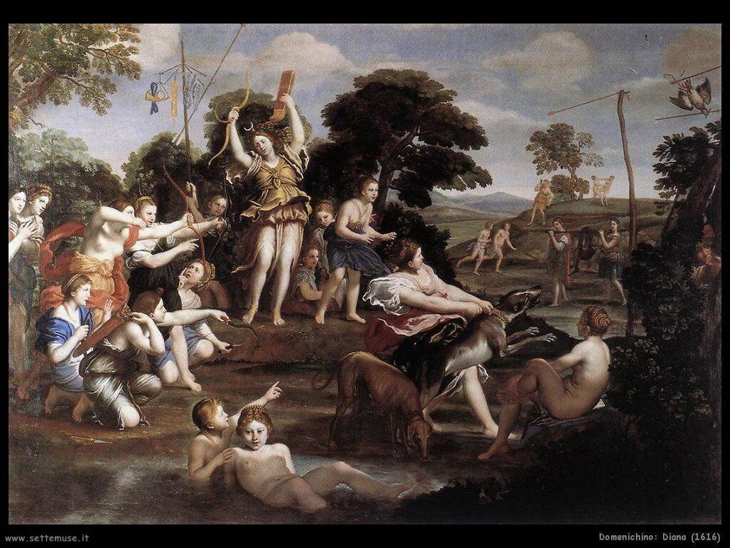 domenichino Diana (1616)