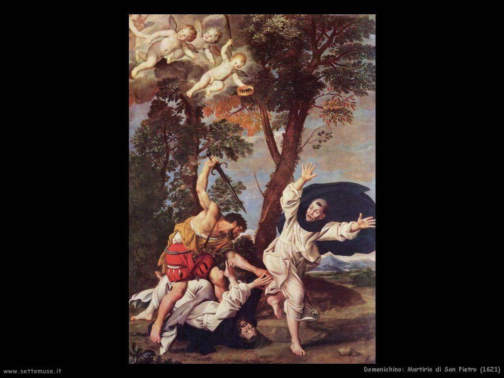 domenichino Martirio di San Pietro (1621)