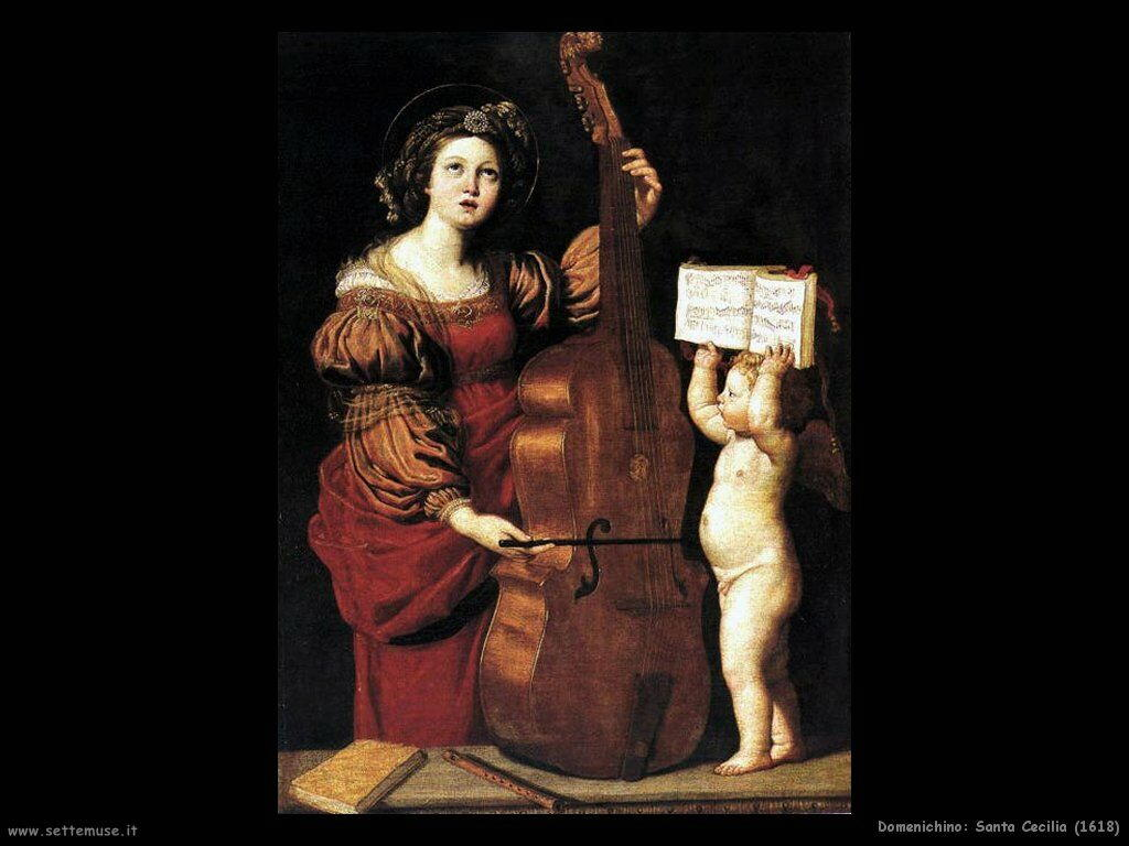 domenichino Santa Cecilia (1618)