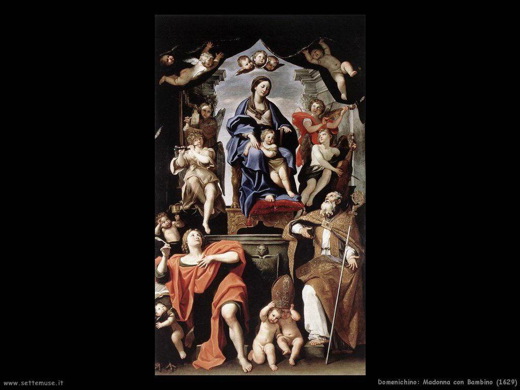 domenichino Madonna con Bambino (1629)